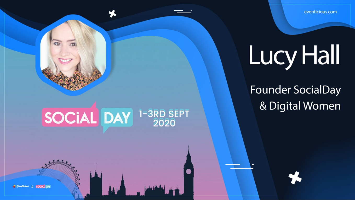 "Case study. ""It seemed like a perfect fit for us, so that we could do it online basically"" — Lucy Hall, founder of Social Day."